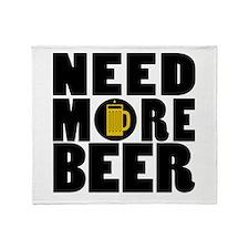 beer5 Throw Blanket