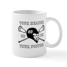 Lacrosse Team Black Alpha Mugs