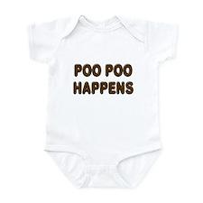 Poo Poo Happens Infant Bodysuit