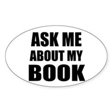 Ask me about my Book Decal