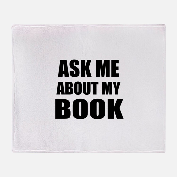Ask me about my Book Throw Blanket