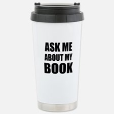 Ask me about my Book Travel Mug
