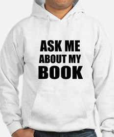 Ask me about my Book Hoodie