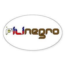 Filinegro Oval Decal
