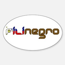 Filinegro Oval Stickers
