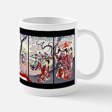 Chikanobu Cherry Blossom Time Mugs