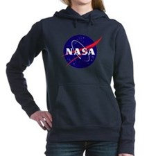NASA Meatball Logo Women's Hooded Sweatshirt