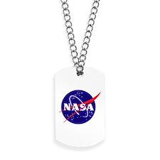 NASA Meatball Logo Dog Tags