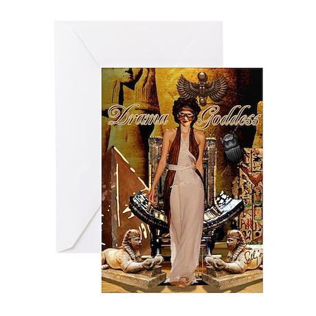 Drama Goddess Greeting Cards (Pk of 10)