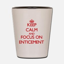 Funny Attractions Shot Glass