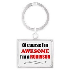 Robinson Awesome Family Landscape Keychain