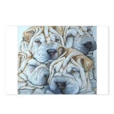 shar pei Postcards (Package of 8)