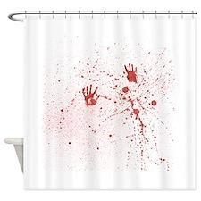 Crime Scene Shower Curtain