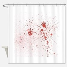 Crime Scene Shower Curtain