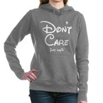 Funny! Don't Care! Just Sayin'! Women's Hooded Swe
