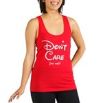 Funny! Don't Care! Just Sayin'! Racerback Tank Top