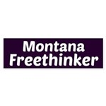 Montana Freethinker Bumper Sticker