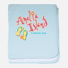 Amelia Island - baby blanket