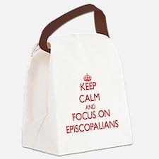 Cute Episcopalian Canvas Lunch Bag