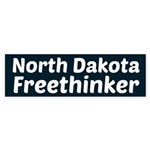 North Dakota Freethinker Bumper Sticker