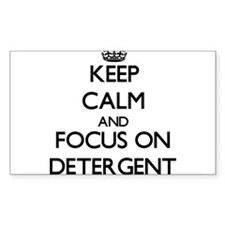 Keep Calm and focus on Detergent Decal