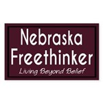 Nebraska Freethinker Bumper Sticker