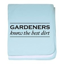 Gardeners know the best dirt baby blanket
