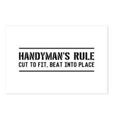 Handymans rule Postcards (Package of 8)
