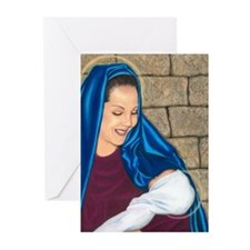 Madonna & Child Greeting Cards (Pk of 10)