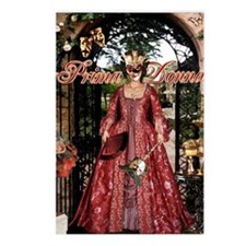 Prima Donna Postcards (Package of 8)