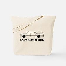 Hearse last responder Tote Bag