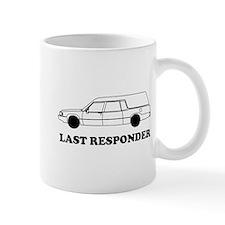 Hearse last responder Mugs