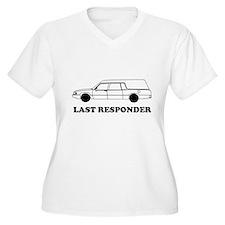 Hearse last responder Plus Size T-Shirt