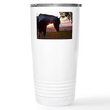 Evening Sun Horse Travel Mug