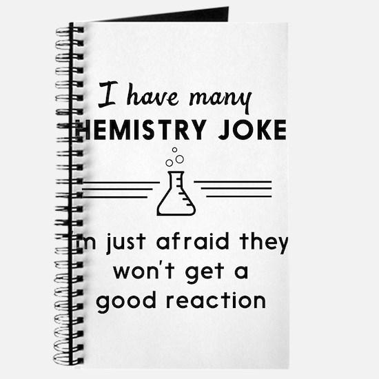 Chemistry jokes reactions Journal