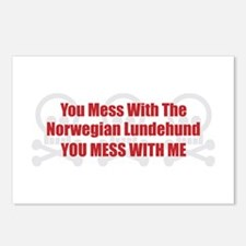 Mess With Lundehund Postcards (Package of 8)