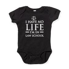 No life in law school Baby Bodysuit