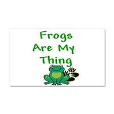 Frogs Are My Thing Car Magnet 20 x 12
