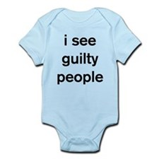 I see guilty people Body Suit