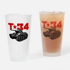 T-34 Drinking Glass