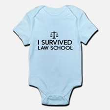 I survived law school Body Suit