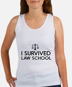 I survived law school Tank Top