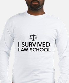 I survived law school Long Sleeve T-Shirt