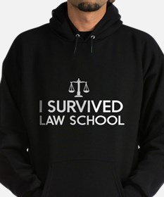 I survived law school Hoodie