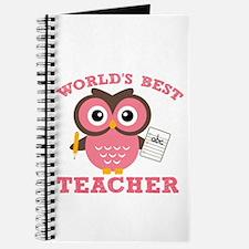 World's Best Teacher (Pink) Journal