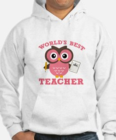 World's Best Teacher (Pink) Hoodie