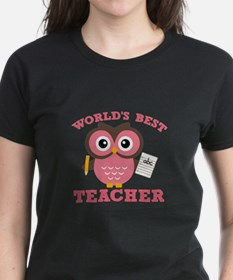 World's Best Teacher (Pink) T-Shirt