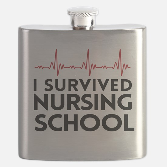 I survived nursing school Flask