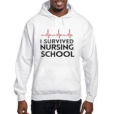 I survived nursing school Hoodie