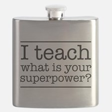 I teach what's your superpower Flask